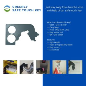 greenly touch safe key
